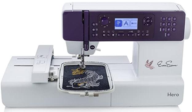 EverSewn Hero - 400-Stitch Computerized Sewing & Embroidery Machine