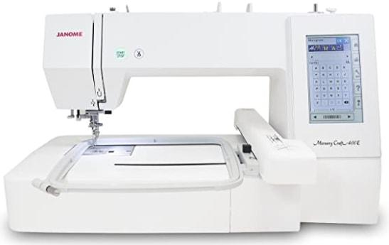 Janome Memory Craft 400E Embroidery Machine